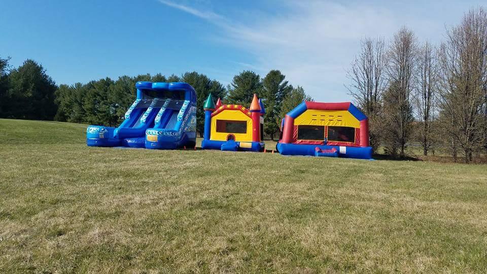 2018 Easter Egg Hunt Bounce Houses