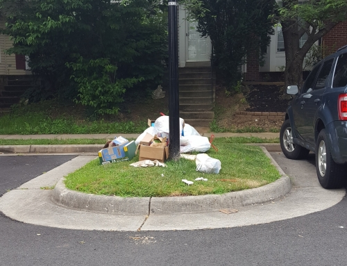 Potomac Crossing Residents: Reminder – New Trash Pick Up Schedule In Effect
